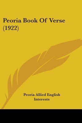 Peoria Book Of Verse