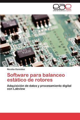 Software para balanceo estático de rotores