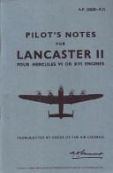 Avro Lancaster II -Pilot's Notes