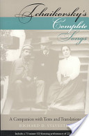 Tchaikovsky's Complete Songs