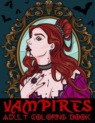 Vampires Adult Coloring Book