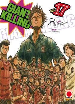 Giant Killing vol. 17