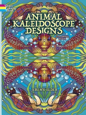 Animal Kaleidoscope Designs Coloring Book