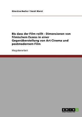 Bis dass der Film reißt. Dimensionen von filmischem Exzess in einer Gegenüberstellung von Art Cinema und postmodernem Film