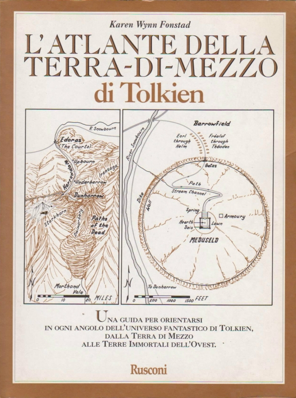 L' atlante della Terra-di-mezzo di Tolkien