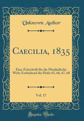 Caecilia, 1835, Vol. 17