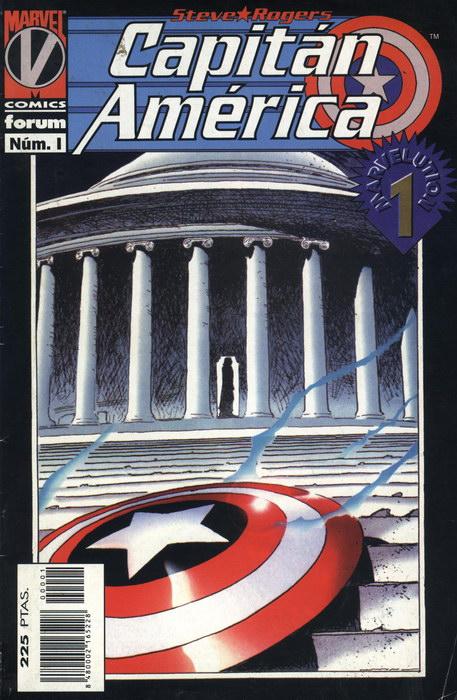 Capitán América Vol.3 #1 (de 11)