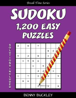 Sudoku 1,200 Easy Puzzles. Solutions Included