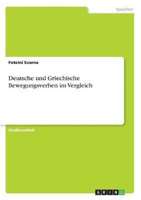 Deutsche und Griechische Bewegungsverben im Vergleich