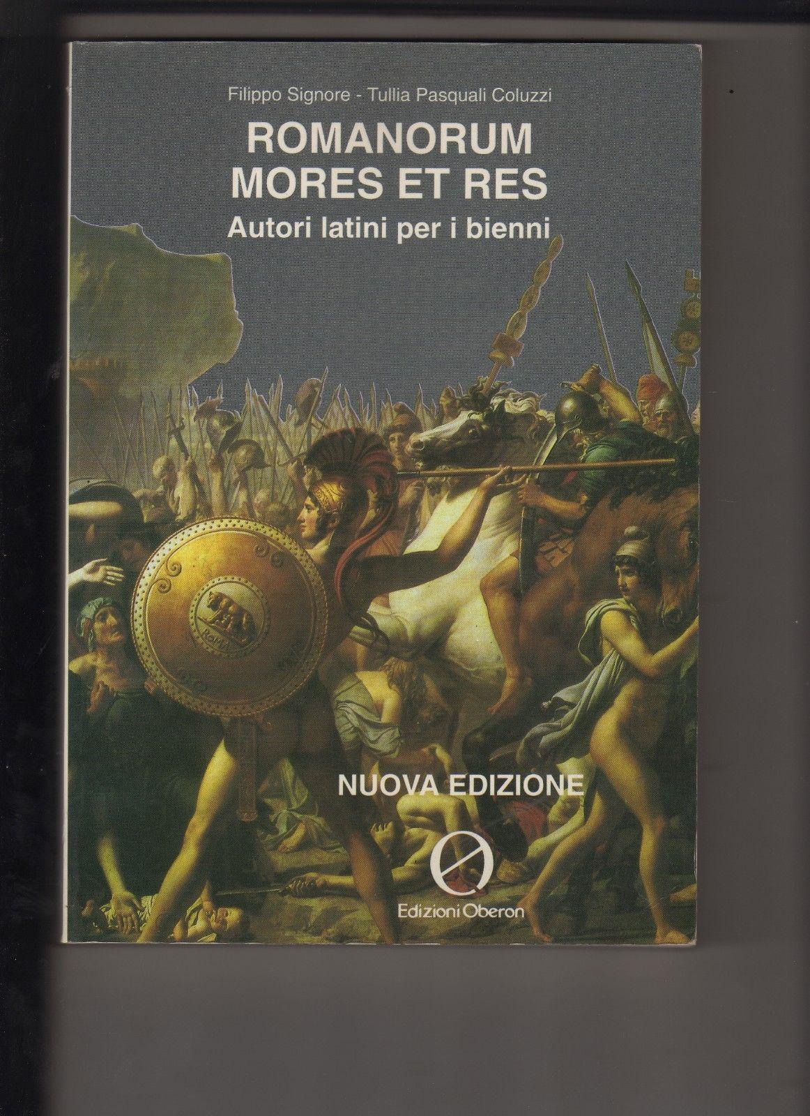 Romanorum Mores et Res