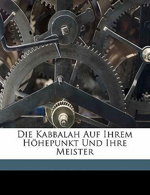 Die Kabbalah Auf Ihrem Hohepunkt Und Ihre Meister