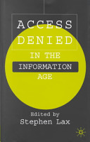 Access Denied in the Information Age