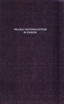 Railway Nationalization in Canada
