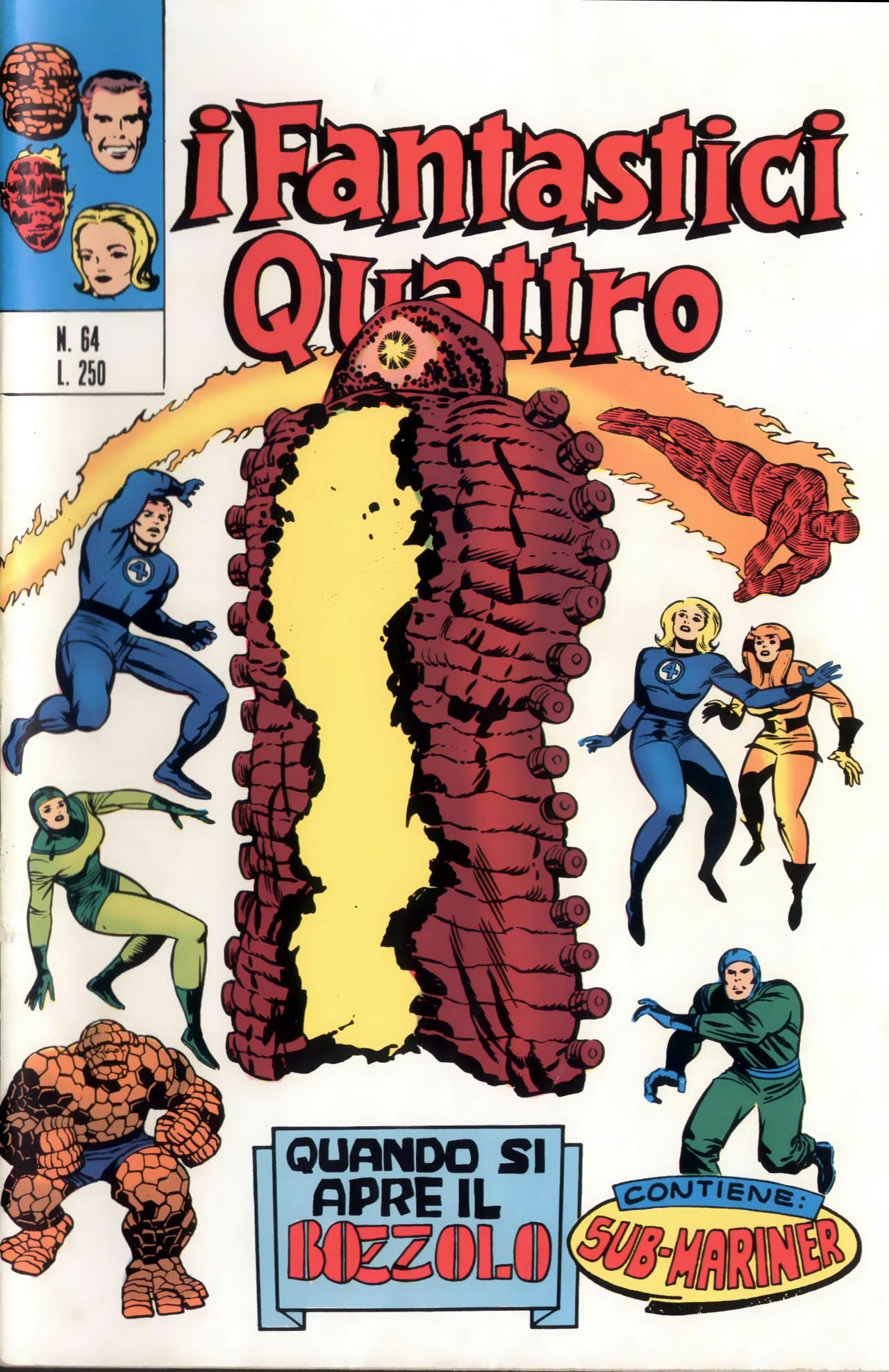 I Fantastici Quattro n. 64