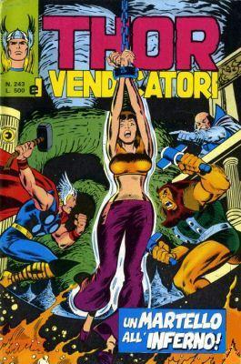 Thor e i Vendicatori (Il Mitico Thor) n. 243