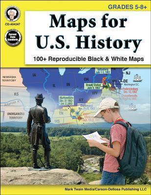 Maps for U.S. History, Grades 5-8+