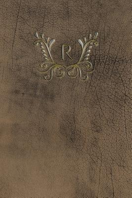 Monogram R Meeting Notebook