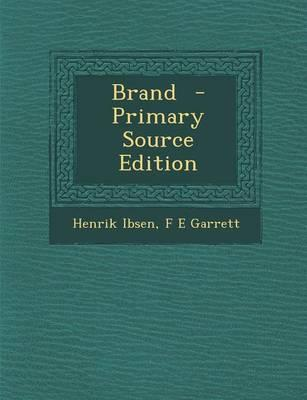Brand - Primary Source Edition