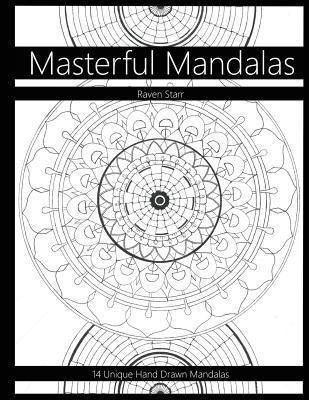 Masterful Mandalas Coloring Book
