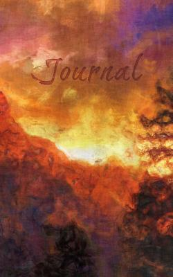 Mountain Sunset Oil Painting Journal