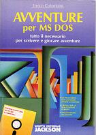 Avventure per MS/DOS. Tutto il necessario per scrivere e giocare avventure. Con floppy disk