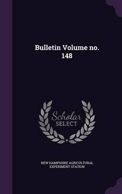 Bulletin Volume No. 148