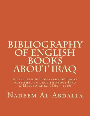 Bibliography of English Books About Iraq