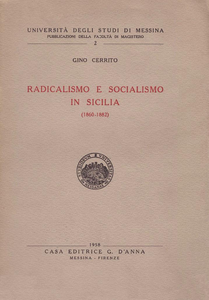 Radicalismo e socialismo in Sicilia