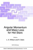 Angular Momentum and Mass Loss for Hot Stars