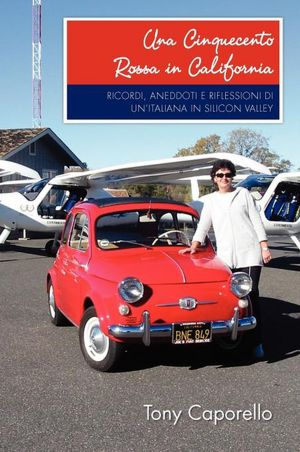 Una cinquecento rossa in California