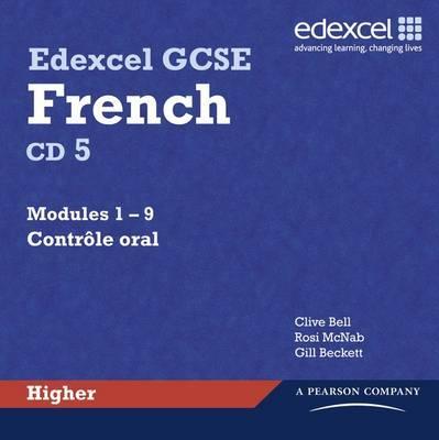 Edexcel GCSE French Higher Audio CDs
