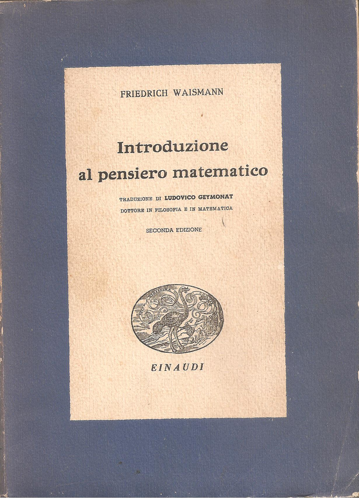 Introduzione al pensiero matematico