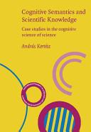 Cognitive Semantics and Scientific Knowledge