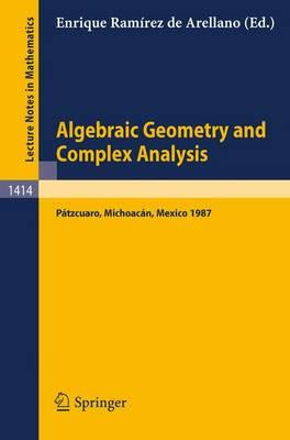 Algebraic Geometry and Complex Analysis