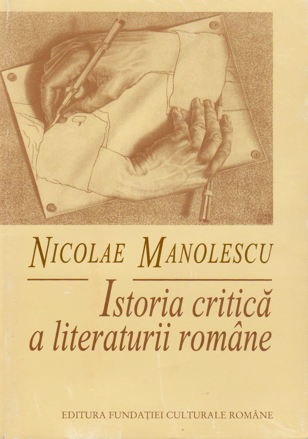 Istoria critică a literaturii române