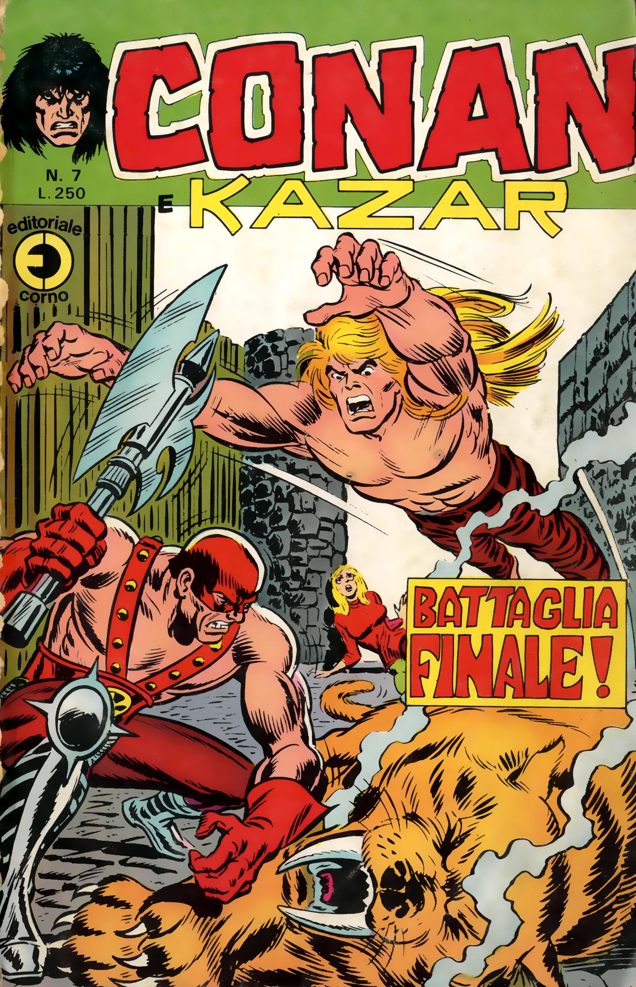 Conan e Ka-zar n. 7