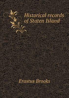 Historical Records of Staten Island