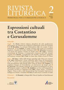 Rivista Liturgica. Bimestrale per la formazione liturgica, Anno 100, n. 2 (aprile-giugno 2013)