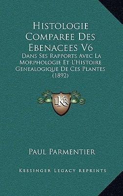 Histologie Comparee Des Ebenacees V6
