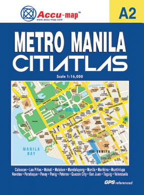 Metro Manila Citiatlas (A2)