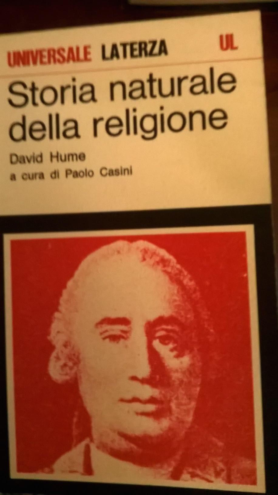 Storia naturale della religione
