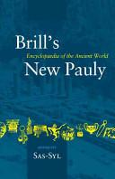 Brill's New Pauly: Sas-Syl
