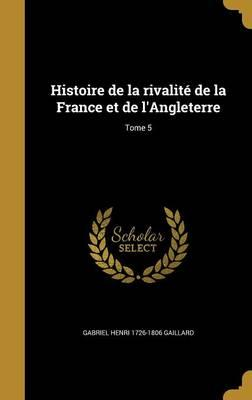 FRE-HISTOIRE DE LA RIVALITE DE