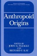 Anthropoid Origins