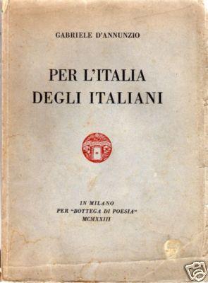 Per l'Italia degli I...