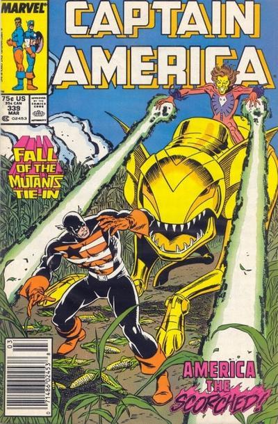 Captain America Vol.1 #339