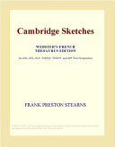 Cambridge Sketches (Webster's French Thesaurus Edition)