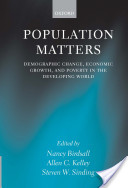 Population Matters : Demographic Change, Economic Growth, and Poverty in the Developing World