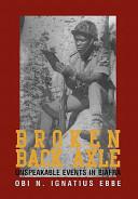 Broken Back Axle
