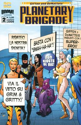 Planetary Brigade n....